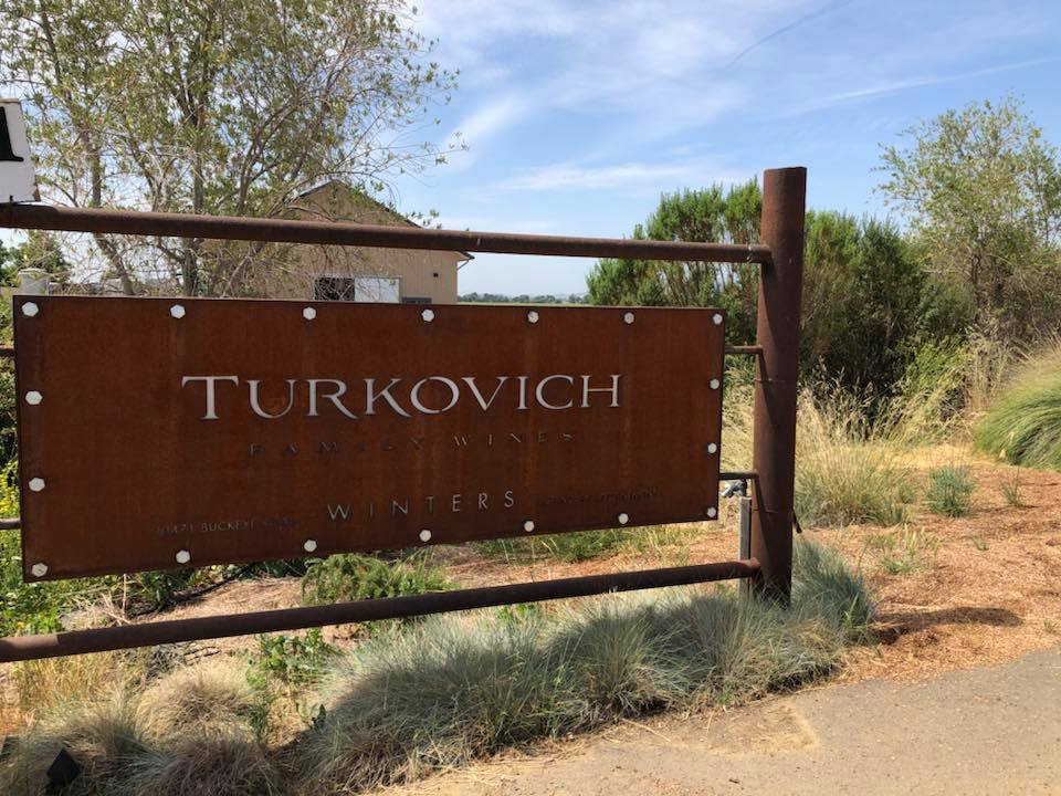 TURKOVICH WINERY SIGN