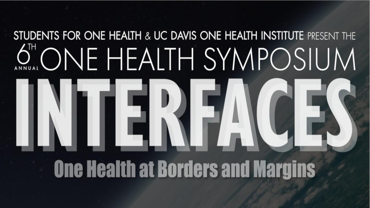 6th Annual One Health Symposium logo text