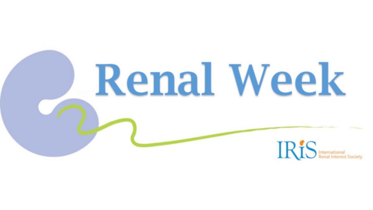 IRIS Renal Week logo